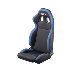 Sparco R100 Black and Blue Tuning Car Seat
