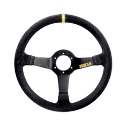 Sparco R368 Suede Steering Wheel