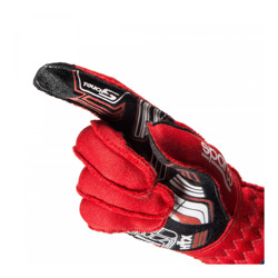 Sparco Race Gloves ARROW RG-7 White  (with FIA homologation)