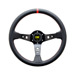 OMP CORSICA BLACK-RED Leather Steering Wheel