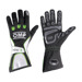 OMP KS-1 Black - White - Green Gloves