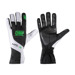 OMP KS-3 Black-White and Fluo Green Gloves