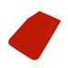 OMP Mud Flaps red (50x30cm)