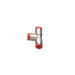 "OMP Platinum Fire Extinguisher 8mm Connection Piece 3 way ""T"" Shape"